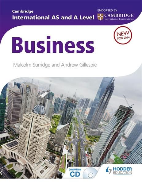 9781444181395, Cambridge International AS and A Level Business Studies Student Book - CIE SOURCE