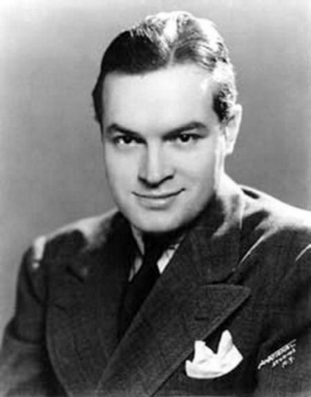 Bob Hope,  born Leslie Townes Hope (May 29, 1903 – July 27, 2003), was an English-born American comedian, vaudevillian, actor, singer, dancer, author, and athlete who appeared on Broadway, in vaudeville, movies, television, and on the radio. He was noted for his numerous United Service Organizations (USO) shows entertaining American military personnel—he made 57 tours for the USO between 1942 and 1988. Throughout his long career, he was honored for this work.