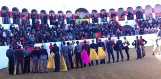 PORTUGAL Arranca el 2013 en el país vecino    Exitoso festival en Mourao - Mundotoro.com