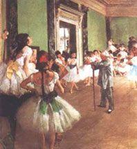 Degas:Die Tanzklasse - 1874