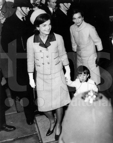 Jackie with little Anthony and Lee