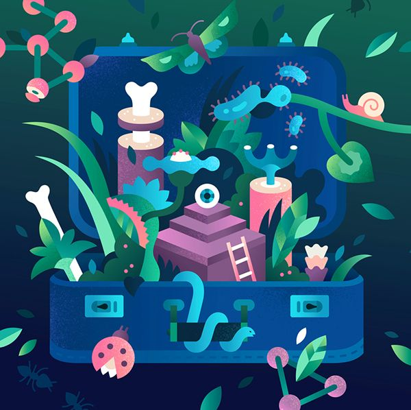 Illustration for Harward Business Review on Behance