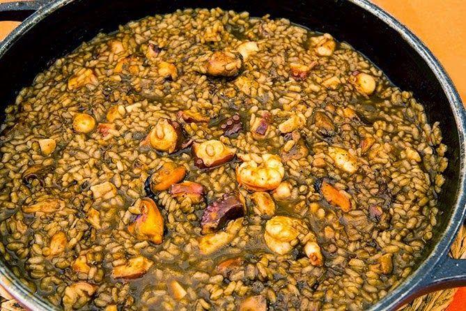 Recetas de cocina Gallega: Arroz con Pulpo