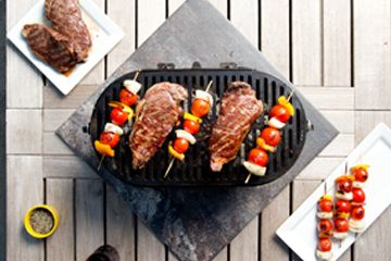 Grill up a complete meal on one of these 100% cast iron American-made Hibachi grills. Lodge grills take your food to the next level!