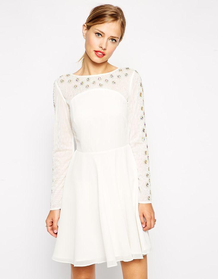 Evening dress asos jumper