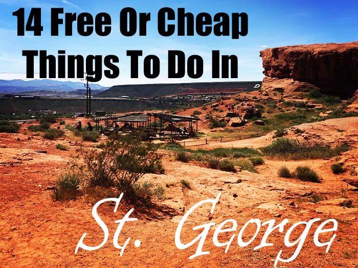 14 Free or Cheap Things to do in St. George, Utah - Coupons4Utah