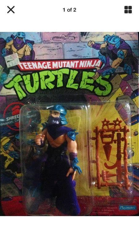 1988 TEENAGE MUTANT NINJA TURTLE - SHREDDER - BRAND NEW ( Collectibles ) in Hermosa Beach, CA - OfferUp