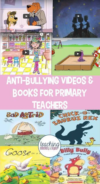 I love this list of anti-bullying vidoes and books as a resource list to teach children about bullying. Need an activity for kids for pink shirt day? These might be just what you are looking for!