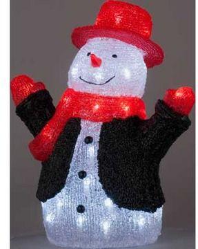 Crystal Snowman Christmas Decoration. on shopstyle.co.uk