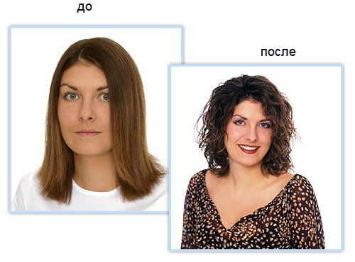 nice shoulder length style before and after