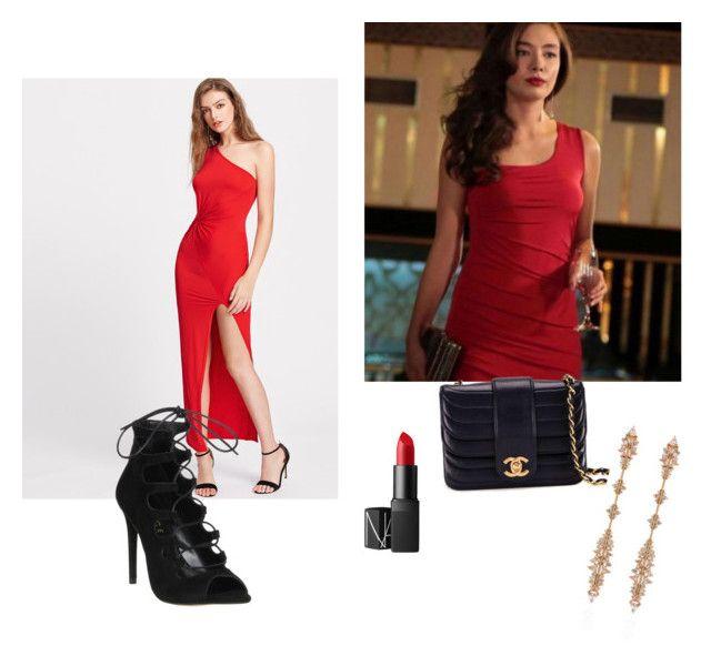 Nehan kara sevda style by maysali on Polyvore featuring polyvore, fashion, style, Office, Chanel, Fernando Jorge, NARS Cosmetics and clothing