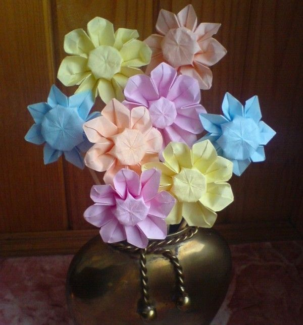 11 best Origami Flower Bouquets images on Pinterest | Origami ...