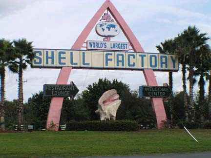 The Shell Factory in Ft. Myers.  Many, many trips here through the years to marvel at all of the shells!  Fun place.