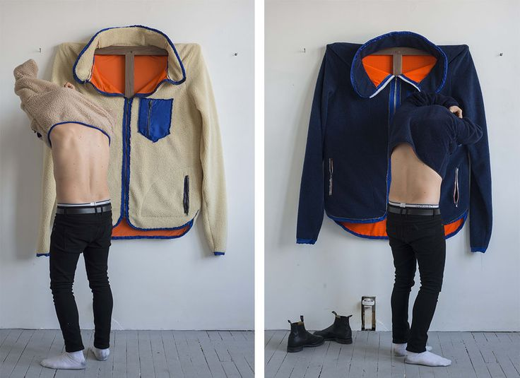 James Viscardi Turns Patagonia Fleeces into Self-Portraits