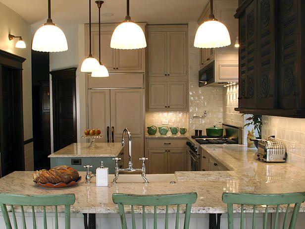 antique inspires kitchen redo