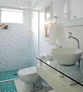 Decoração - Banheiros pequenos como os nossos | Simples Decoracao | Simples Decoração