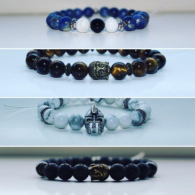 ❗️ NEW ❗️ Holy Buddha & Warrior bracelets, get yours now @gloriousgems ✉️ DM us for orders, info & prices. Website is coming  #buddha #warrior #forhim #fashion #handmade #design #wristwear #wristporn #lavastone #tigereye #accessories #quality #getyourstoday