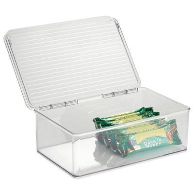 InterDesign® Cabinet Binz™ Stackable Storage Box - BedBathandBeyond.com