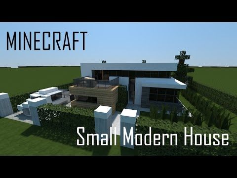 Minecraft Small Modern House (full interior) + Download - YouTube