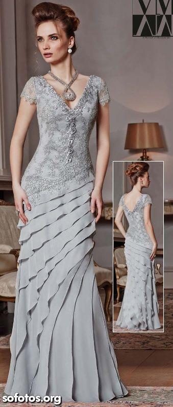 Vestido de luxo para madrinhas