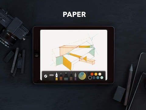 Paper 53: piirustussovellus kaikenikäisille piirtäjille.