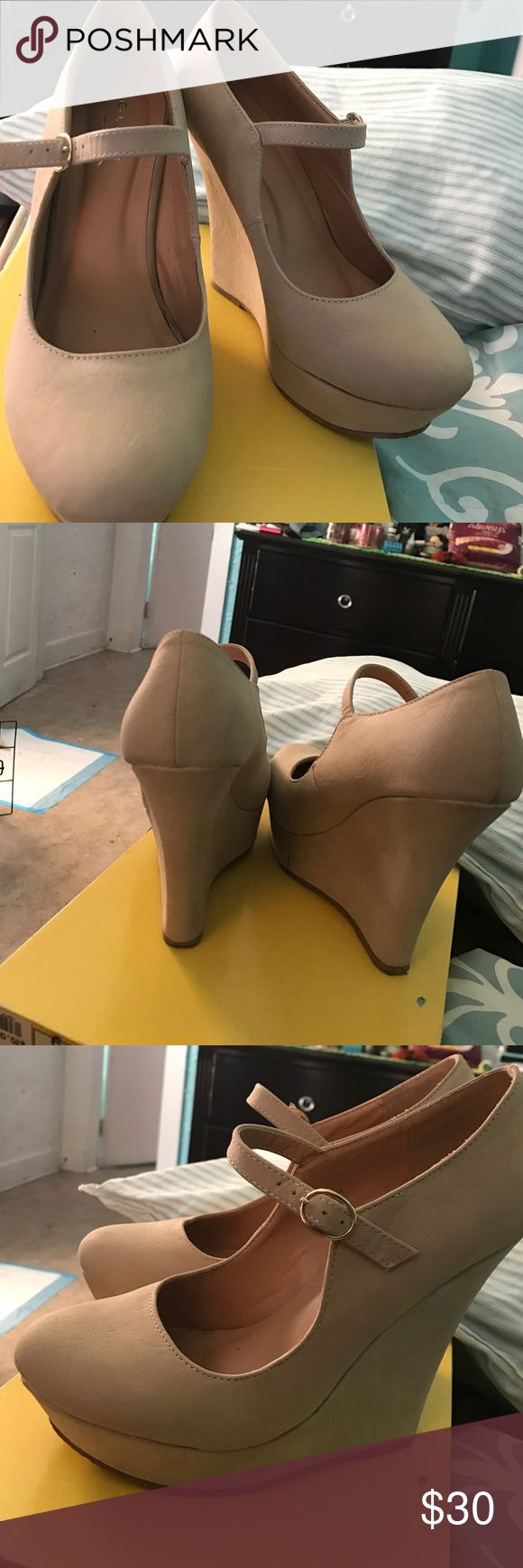 Wedges High Heels Comfortable Usually cost more reasonable price Charlotte Russe Shoes Heels