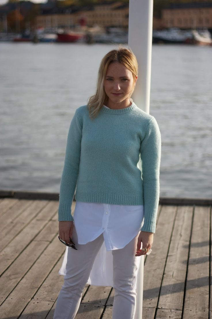 Wearing: Assymetrical blouse, 79€  Available here: http://on.fb.me/159YnVJ  At Strandvägen. http://thegradientskies.blogspot.se/2013/10/strandvagen.html