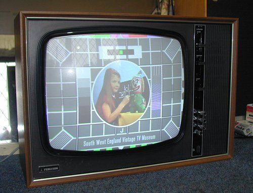 Our TV was an instant-on Hitachi that we had to unplug every night because one of these TV's exploded somewhere in the world and my mom was afraid of ours.