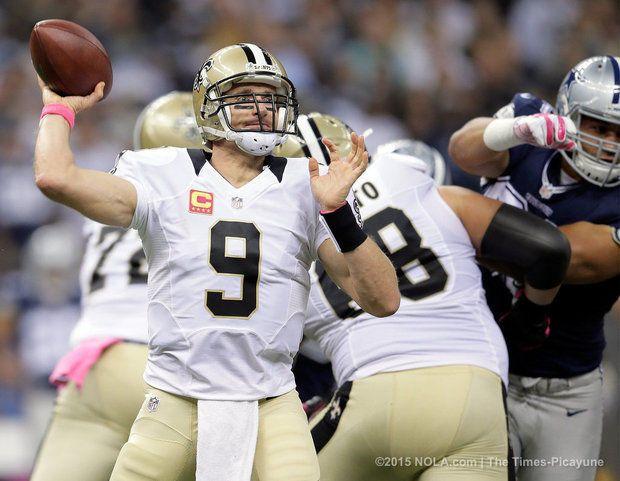 Drew Brees to Mark Ingram, Saints vs Cowboys 2015