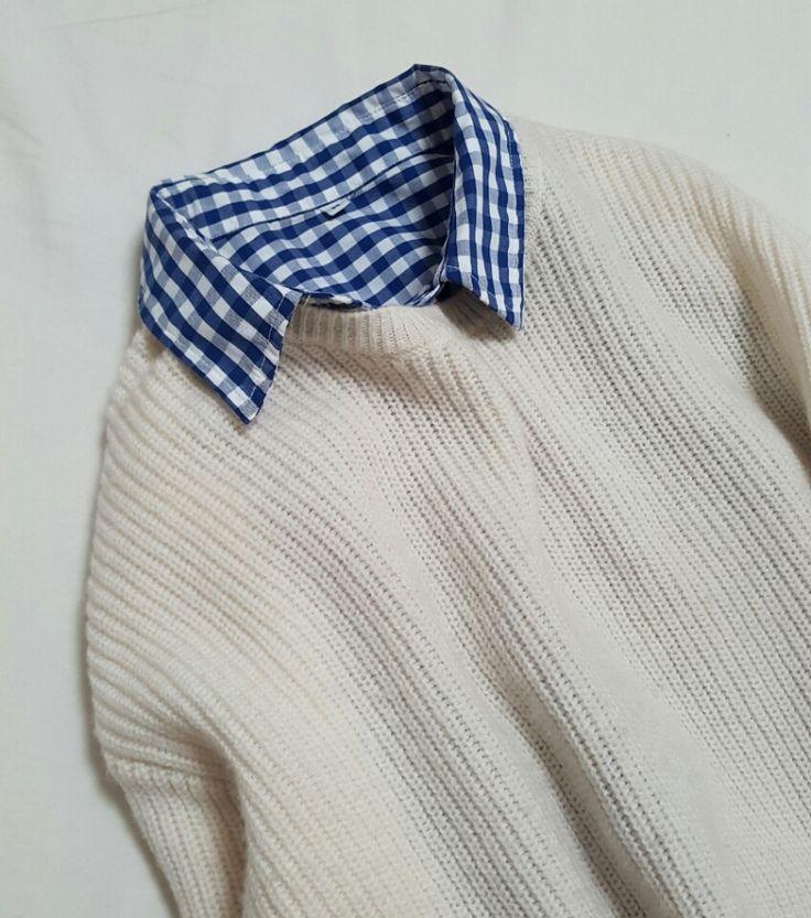 無印のギンガムチェックシャツとオススメ配色のこと  TOKYO BASE ー大人のプチプラコーデブログー