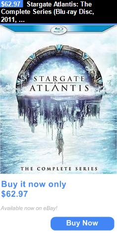 cds dvds vhs: Stargate Atlantis: The Complete Series (Blu-Ray Disc, 2011, 20-Disc Set) BUY IT NOW ONLY: $62.97