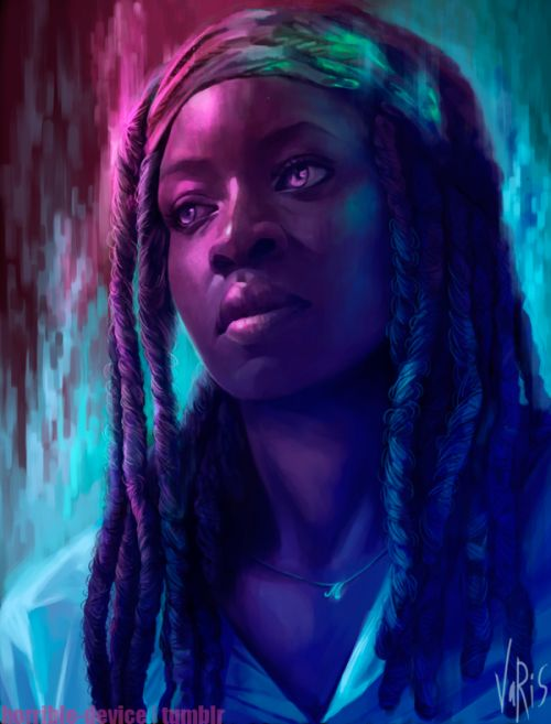 Michonne ..love the depth to her character