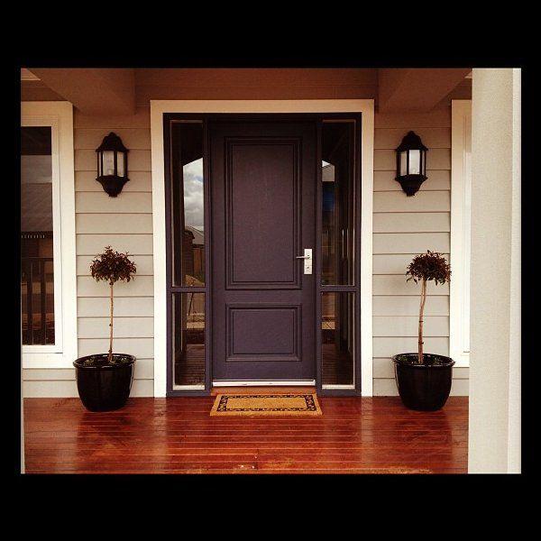 Taubmans foxdale, ironstone front door