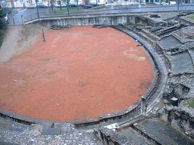 Amphiteatre Trois Gaules Lyon - La Croix-Rousse — Wikipédia