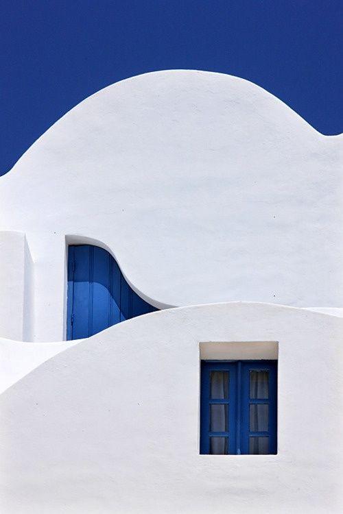 Bianco + blu + cielo [Santorini]
