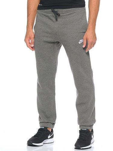 939a7b536aa7 New Nike Mens Club Charcoal Gray Lounge Sweatpants Joggers Athletic Pants  Small  Nike  CasualPants