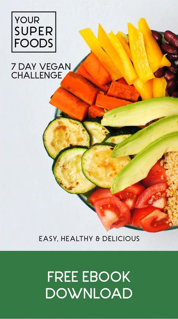 Download now our vegan recipe ebook. Signd up and get all 3 e-books with over 100 superfood receipes for free.