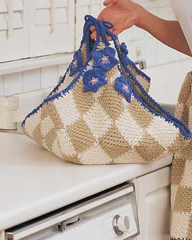 Handicrafter Cotton - Casserole Wrap (crochet)