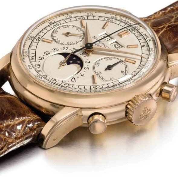 Of Course we all know that Patek Philippe is known for their expensive brand of watches but this one is a doozy.