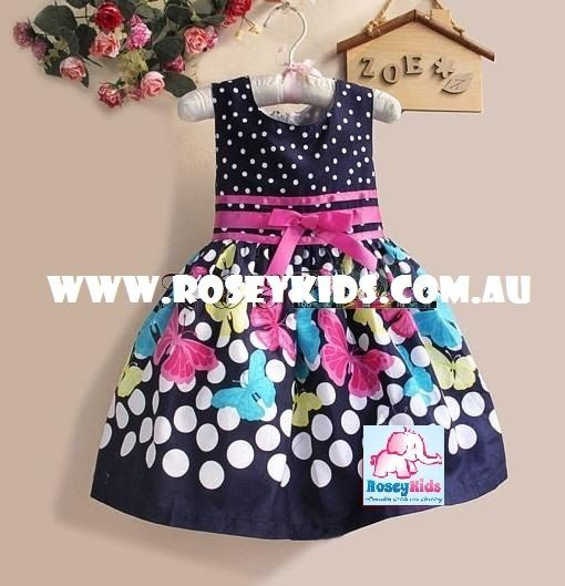 Rosey Kids - Butterfly Party Dress, $25.00 (http://www.roseykids.com.au/butterfly-party-dress/)