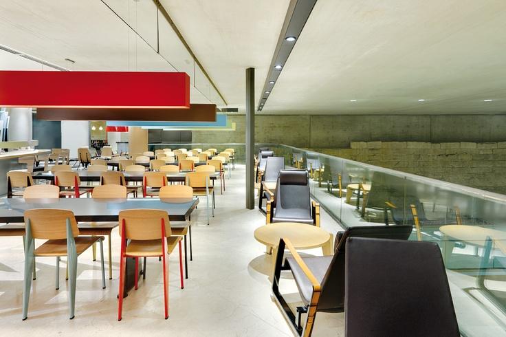 McDonalds At The Louvre In Paris! Jean Prouvé Furniture By Vitra. | Retail  References | Pinterest | The Louvre, Mcdonaldu0027s And Tourism