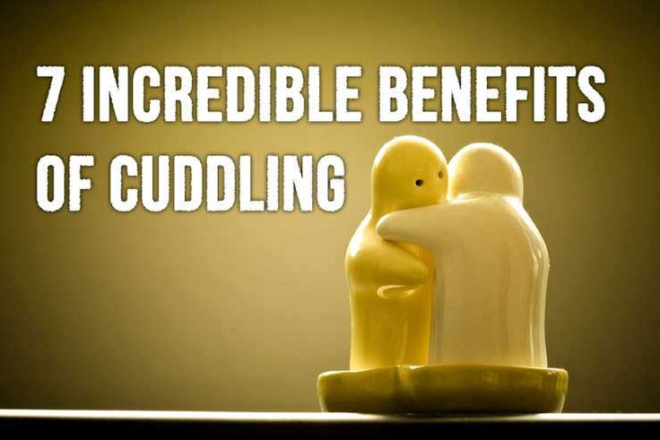 List of some incredible benefits of cuddling