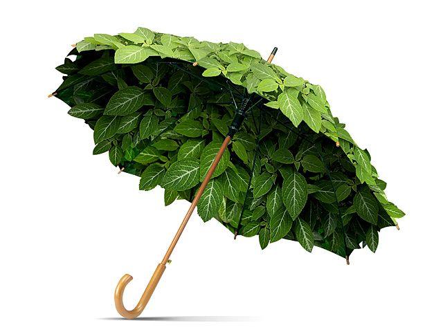 Tiki's TinkerBar: Leaf Umbrellas