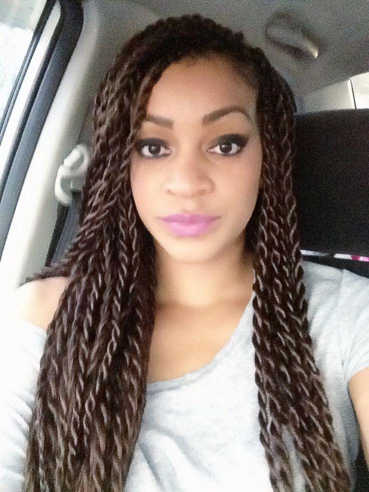 25+ best ideas about Senegalese twist braids on Pinterest ...