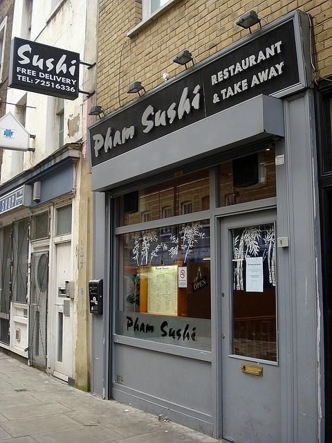 Pham Sushi, Whitecross Street, EC1