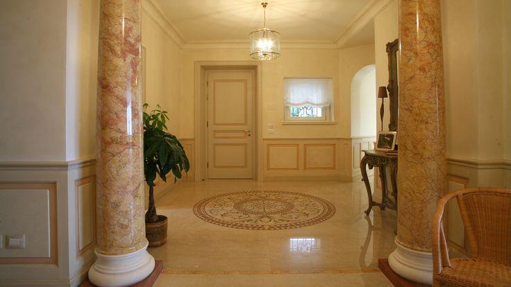 Villa Lake Maggiore – Entrance hall by Roncoroni Moretti