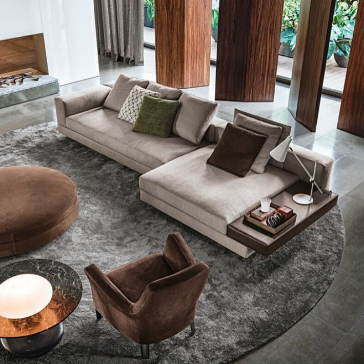 The Most Recent Living Room Sets By @Minotti