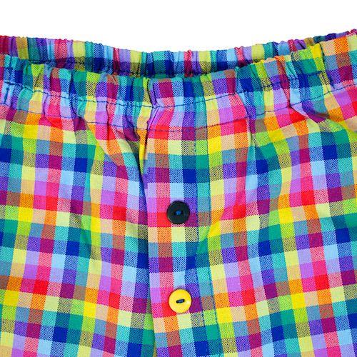 Pants CIRCUS RAINBOW – Pan Pantaloni Summer Tribes 2015 collection for kids, light cotton pants. #fashion #kids #natural #summer #grandbazaar