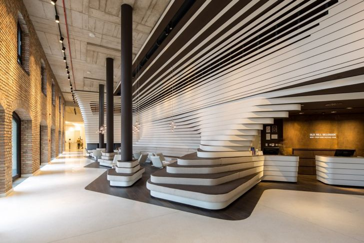 Industrial meets modern through reclaimed materials in Serbia's Old Mill Belgrade Hotel | Inhabitat - Sustainable Design Innovation, Eco Architecture, Green Building