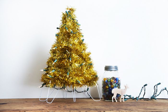 My mom has been making these adorable tinsel trees with the grandkids for years, and when I...